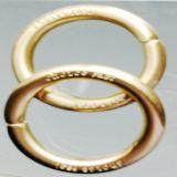 铜质圆扣 包包扣 登山扣 圆圈扣 东莞五金厂 铜金属饰品