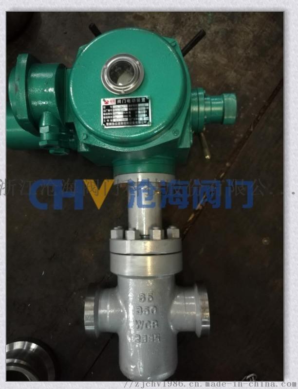 CHZ983Y高压电动卡箍平板闸阀