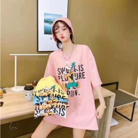 2020新款纯棉T恤 夏季休闲女士短袖上衣