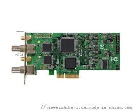 金微視高清廣播級1080P2路SDI視頻採集卡