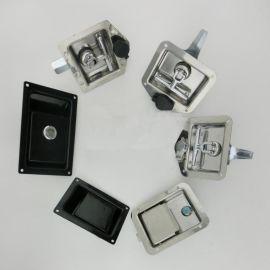 不锈钢防水防尘方形工具箱锁面板锁
