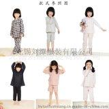 儿童高档全棉家居服睡衣贴牌加工外贸出口贴牌加工