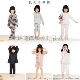 儿童**全棉家居服睡衣贴牌加工外贸出口贴牌加工