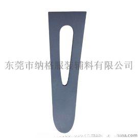 厂价注塑魔术贴袖袢\冲锋衣塑料勾绑带\滑雪服袖口粘扣带