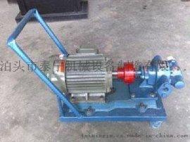 泊头泰宁机械供应YCB系列圆弧齿轮油泵咨询电话13011424545