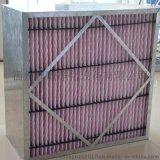 廠家供應鼎瞻淨化空氣過濾器  有隔板中效率過濾器 超耐高溫過濾器