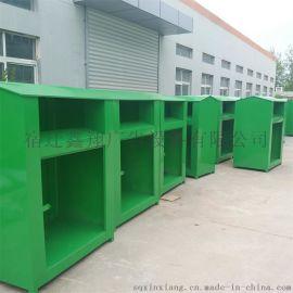 供应旧衣投放箱 爱心回收箱 慈善旧衣服回收箱厂家