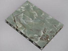 吸音隔热仿石纹铝蜂窝板 幕墙铝单板