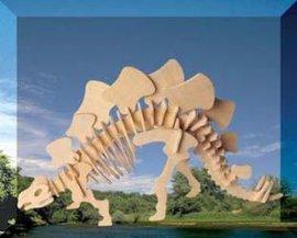 3D 立体木制拼图-J002