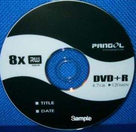 可刻录光盘 (1X-8X DVD+R)