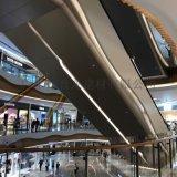 成都万达电梯铝板深咖啡 东方明珠电梯冲孔亮光铝单板