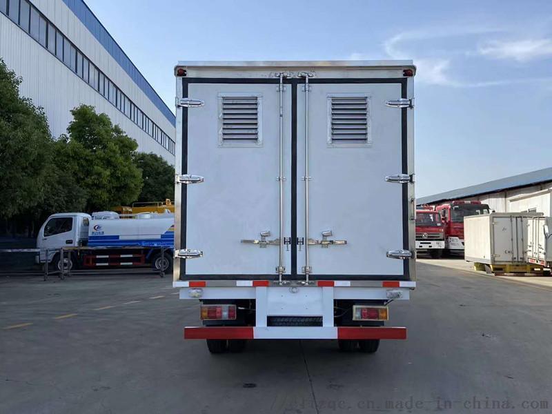 蔬菜水果海鲜冷冻食品4米2 冷藏运输车(国六)