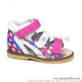 廣州外貿童鞋, 力學矯正鞋,兒童涼鞋,真皮童鞋