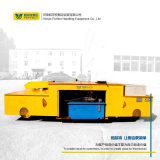 電動平板工具車搬運設備使用20T無軌道電動平板車