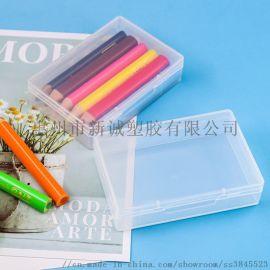 新诚23mm透明文具盒多功能定制铅笔盒创意文具盒