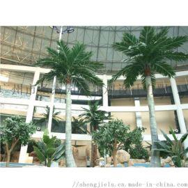 广州圣杰仿真椰子树,玻璃钢椰子树,仿真大树厂家直销