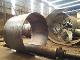 广西Q235B厚壁卷管 直缝焊卷管定制