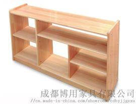博用四川儿童玩具柜定制 实木四川儿童房书柜厂家