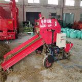 全自动农业打捆机包膜机厂家玉米秸秆青贮打捆包膜机