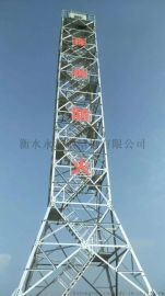 四角角钢监控塔、森林防火监控塔、林业局监控塔