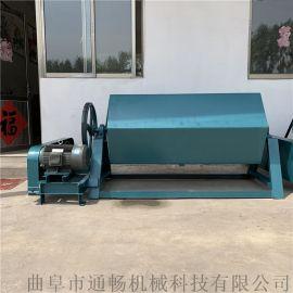 金属零件打磨设备 干式无酸洗铁件除锈机 滚筒抛光机