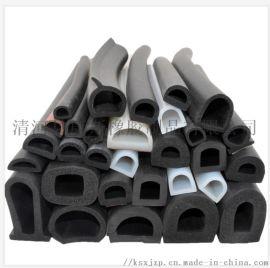 供应三元乙丙阻燃发泡密封条 橡胶阻燃发泡胶条
