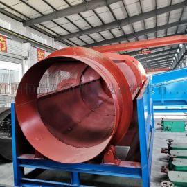 滚筒筛沙机厂家 双层圆筒筛分设备 大型煤矿分离机