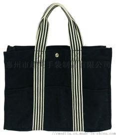 黑色天鵝絨布袋,絨布手提袋