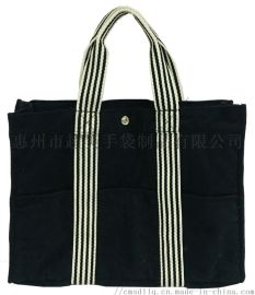 黑色天鹅绒布袋,绒布手提袋