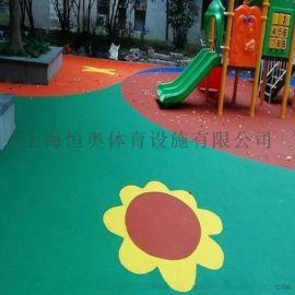 滨江复合型塑胶跑道施工
