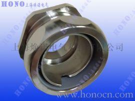 US系列金属软管直接头 US金属软管黄铜镀镍直接头