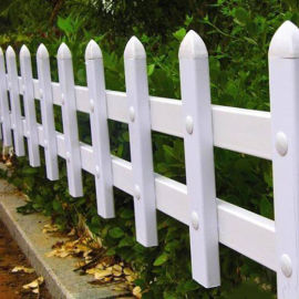 安徽巢湖塑料草坪护栏pvc护栏 绿化护栏型材