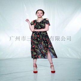 巴丽&蒂斯大码时尚女装/四川品牌折扣尾货