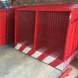 基坑隔离防护围栏/安全隔离黄色围栏