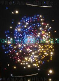 玻璃桥夜灯 生肖星座艺术灯 超长亮度导光光纤