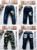 韓版中童大童加厚牛仔褲 冬季兒童牛仔褲地攤趕集貨源
