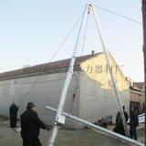 四川省三节式铝合金拔杆立杆器抱箍