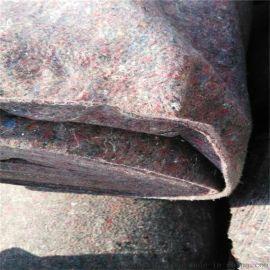 黑心棉毛毡 搬家运输毛毡 公路铺路毯