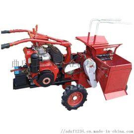 单行玉米收割机 苞米收获机 秸秆粉碎机