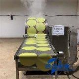 圆形蛋卷皮机,蛋糕皮机器,全自动蛋糕皮机