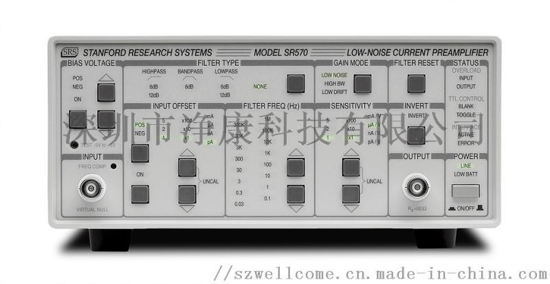 SR570低噪声电流放大器
