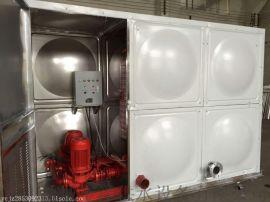 方形不锈钢水箱 消防箱泵一体化设备用途