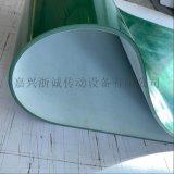 四布四胶绿色PVC输送带