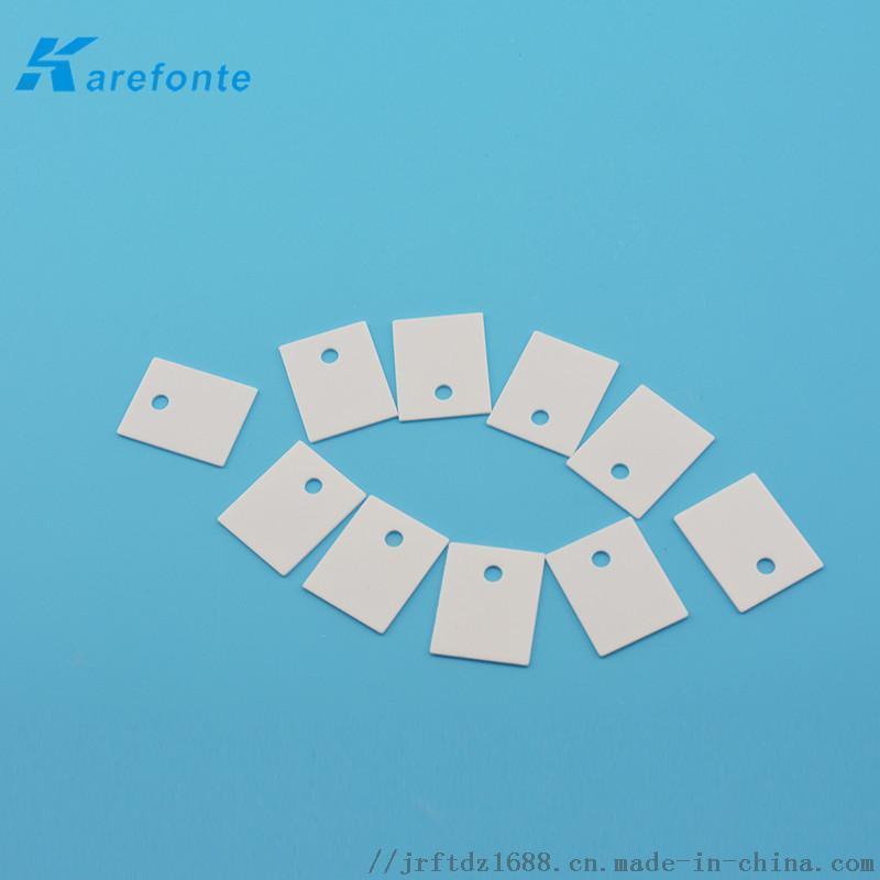 高导热陶瓷片有孔导热陶瓷片 绝缘陶瓷片激光切割陶瓷