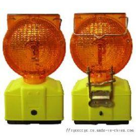2灯太阳能路障道路交通LED警示灯护栏施工