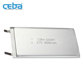 3000mAh电动理发机LP525297聚合物电池