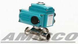 美国AIMISCO进口电动三通快装球阀