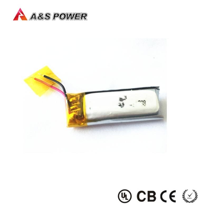 401030 3.7v 80mah蓝牙耳机锂电池