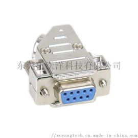 D-Sub9针焊线式连接器 公母连接器 电子元器件