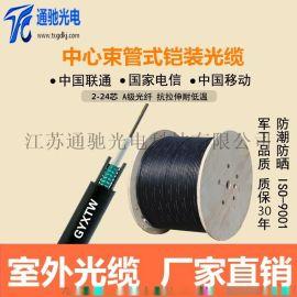 GYXTW-12B1中心束管铠装光缆厂家直销